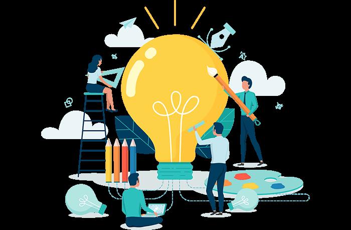 Skatinas verslas academy mokinių kūrybiškumas