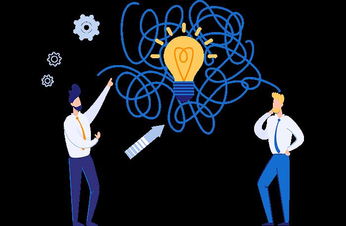 E-komercijos ekspertų pagalba (ikonėlė)